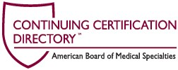 ABMS Continuing Certification Directory: ABCRS